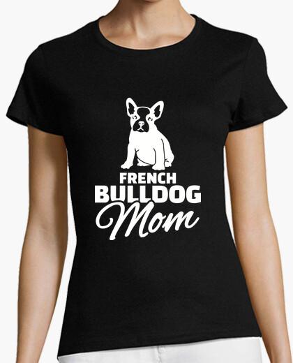 Camiseta mamá bulldog francés