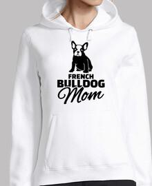 mamá bulldog francés
