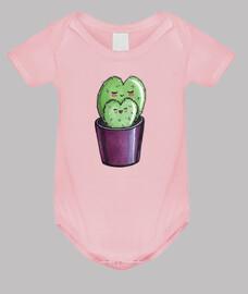 Mamá cactus corazón