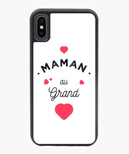 Funda iPhone X / XS mamá con gran corazón