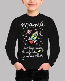 Mamá contigo hasta el infinito ¡y más a
