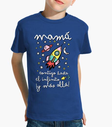 Ropa infantil Mamá contigo hasta el infinito ¡y más allá!