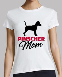 mamá del pinscher