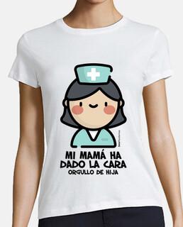 Mamá enfermera Hija