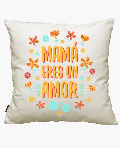 Funda cojín Mamá eres un amor