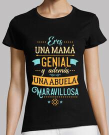 Mamá genial Abuela maravillosa