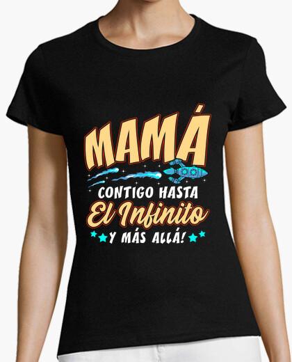 Camiseta Mamá Hasta El Infinito