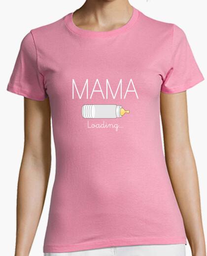 Camiseta Mama Loading