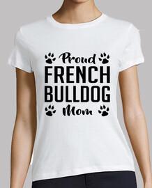 mamá orgullosa del dogo francés