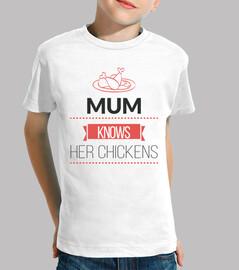 mamá sabe sus pollos