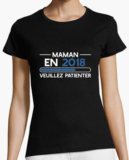 Tee-shirt Maman 2018 cadeau