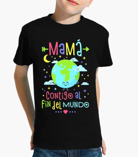 Vêtements enfant maman avec toi au bout du monde