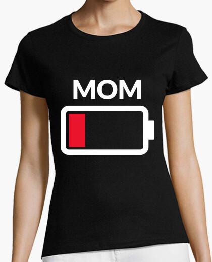 Tee-shirt maman batterie vide