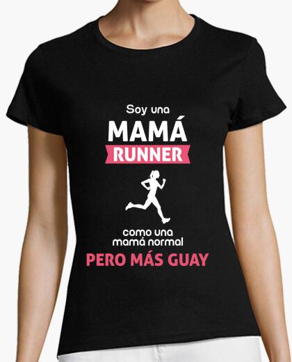 Tee-shirt maman coureur (comme une maman normale, mais le plus cool)