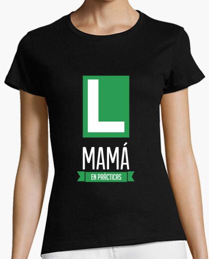 Tee-shirt maman dans la pratique