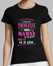 Maman et princesse je gère cadeau