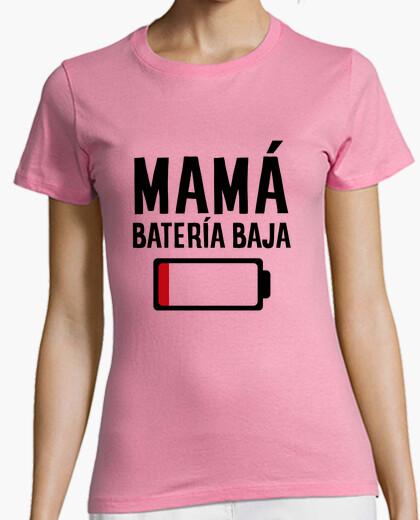 Tee-shirt maman faible batterie