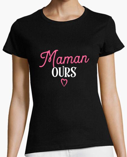 Tee-shirt Maman ours cadeau