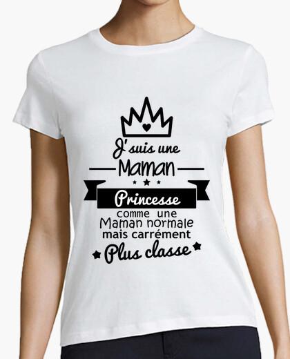 Tee-shirt Maman princesse