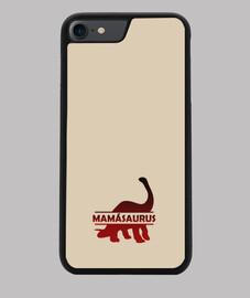Mamasaurus funda iphone 7 o 8 para madre dinosaurio