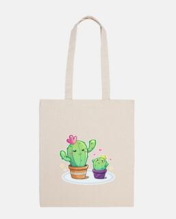 Mami cactus - bolsa de algodón