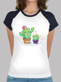 Mami cactus - camiseta dos colores