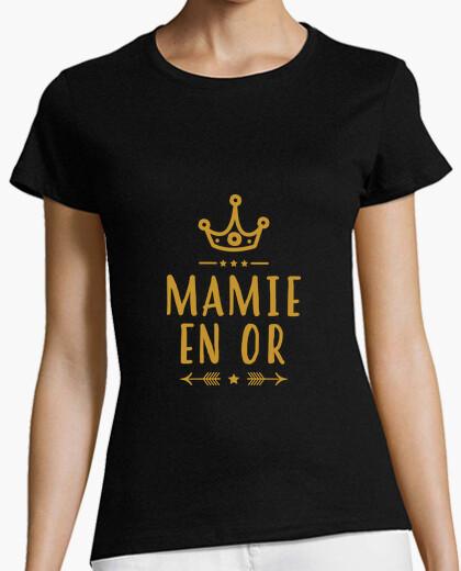 Tee-shirt Mamie en or / Mamy / Grand-Mère