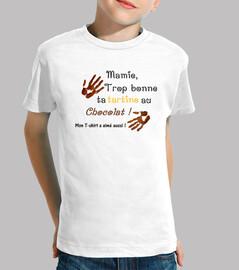 Mamie tartine au chocolat T-S