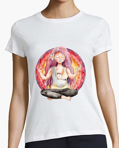 Mamiyogui woman short manga t-shirt