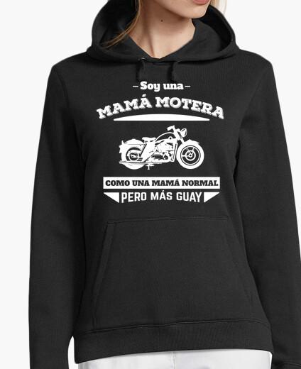 Felpa mamma biker