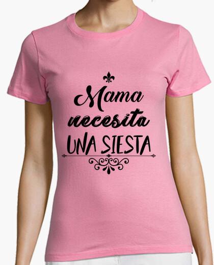 T-shirt mamma bisogno di una pisolino