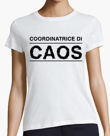 T-shirt Mamma coordinatrice di caos
