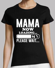 mamma da caricare per favore aspetta
