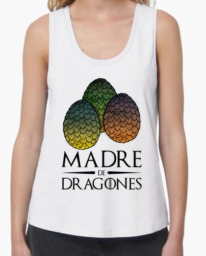 T-shirt mamma di draghi