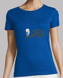 mamma di draghi ( il trono di spade ) - t-shirt donna a manica corta