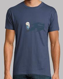 mamma di draghi ( il trono di spade ) - t-shirt manica corta uomo