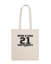 Mamma e papà 21 università
