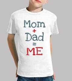 mamma e papà = me