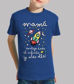 mamma si verso l'infinito e più lì!