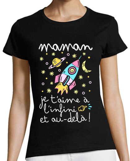 Visualizza T-shirt donna in francese