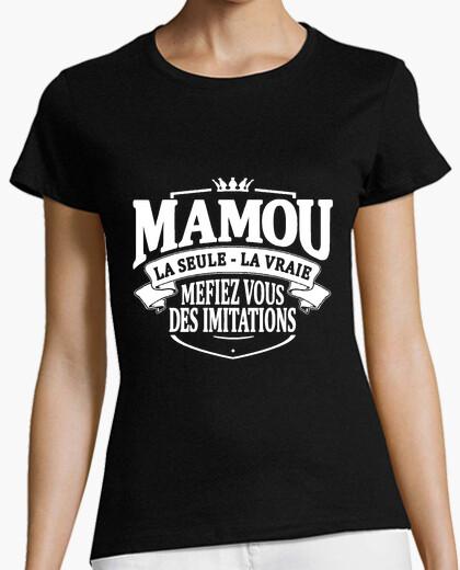 Tee-shirt Mamou la seule la vraie