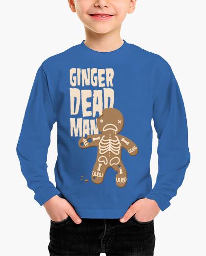 Vêtements enfant man dead gingembre