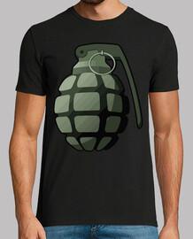 man grenade / arme / soldat