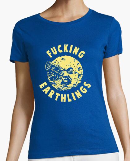Camiseta Man on the Moon (amarilla)