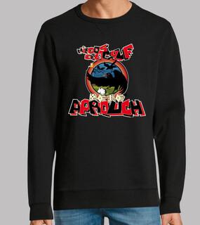 Man, sweatshirt, black