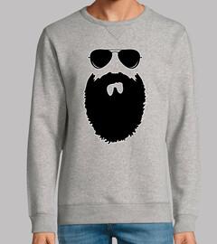 Man, sweatshirt, heather gray