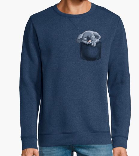 Man, sweatshirt, royal blue hoody