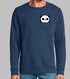Man, sweatshirt, royal blue