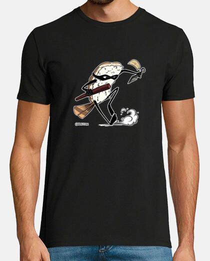 man t-shirt ninjasushi kunai