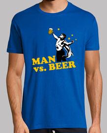 Man vs. Beer